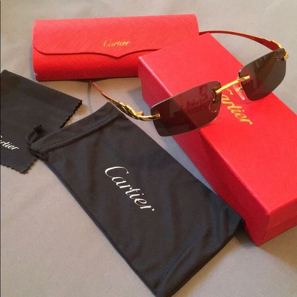 e92b8ca50f7 100% Authentic Cartier Sunglasses